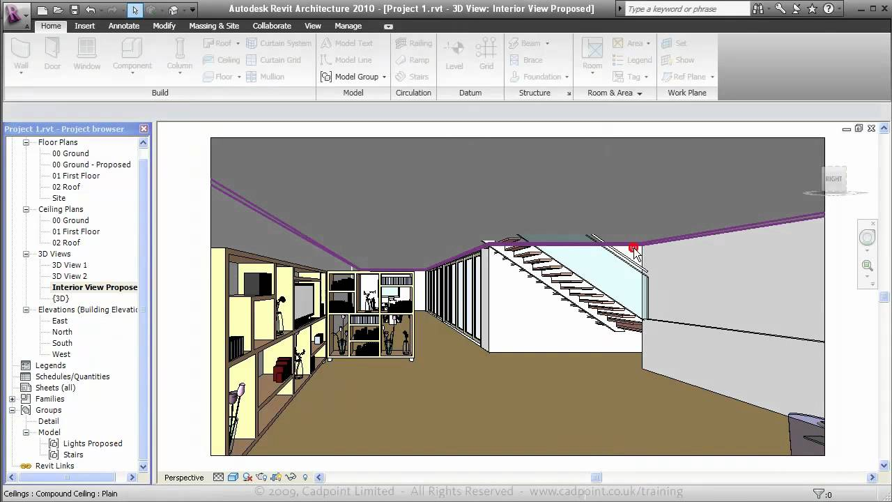 Lovely Revit Architecture For Residential Interior Design 2