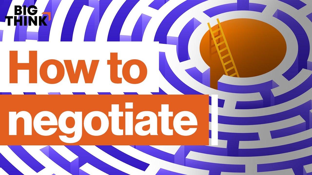 How to win a negotiation | Chris Voss, Dan Shapiro & more | Big Think