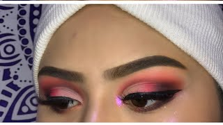SIMPLE CUTE VALENTINES MAKEUP LOOK
