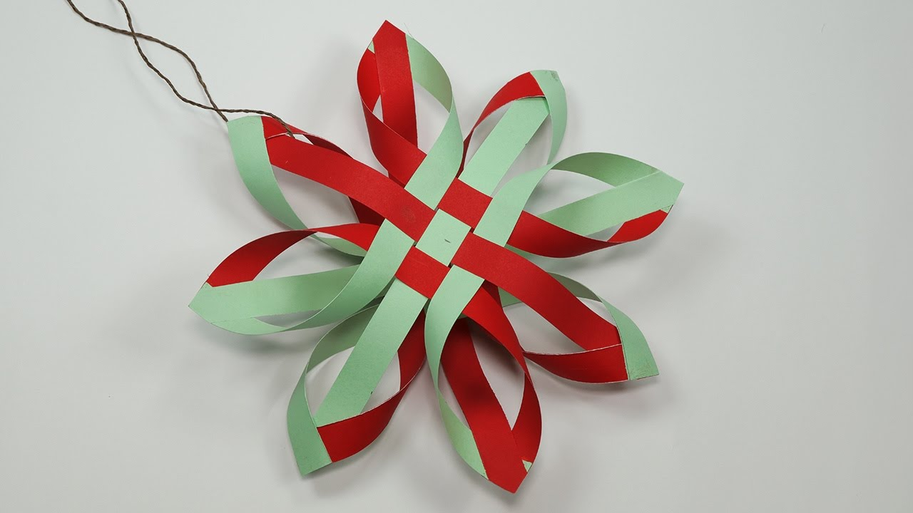 Paper Snowflakes - How to Make Paper Snowflakes for DIY Christmas ...