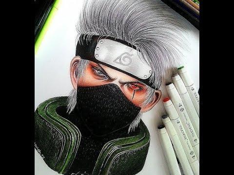 Kakashi Hatake | Naruto | Speed Drawing
