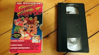 Street Fighter II NMS Players Guide VHS