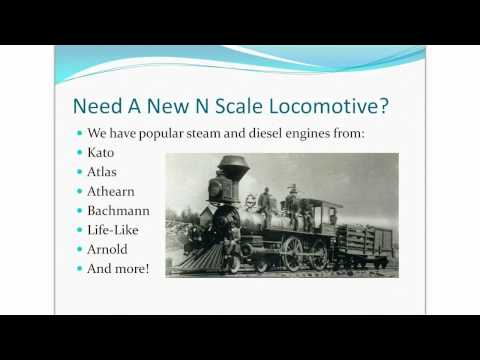 N Scale Trains – Model Railroading With N Scale Trains