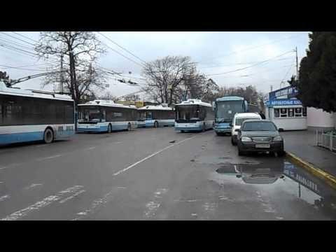 Вокзал и автостанция в неспокойном Симферополе
