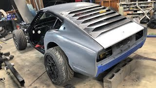 Building DIY Window Louvers For The 240z