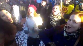 Митинг. Самара - Крым