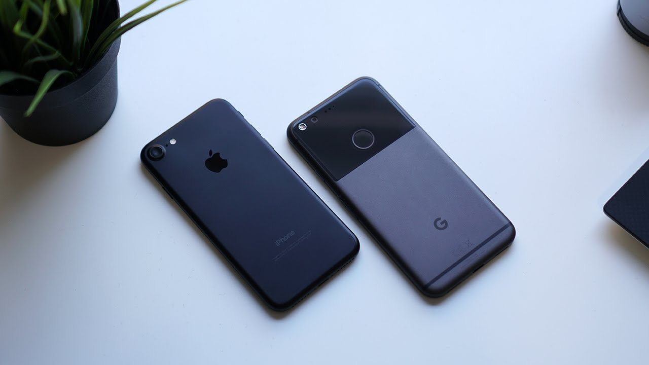 Google Pixel vs iPhone 7: Battle of more than just Digital ...