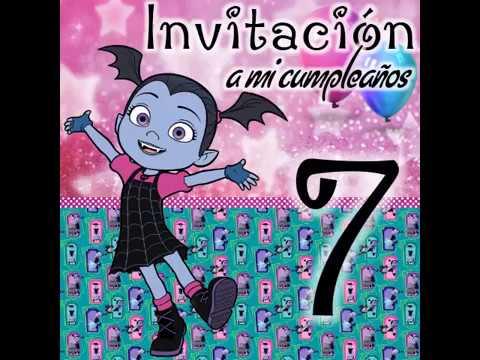 Invitacion Vampirina Youtube