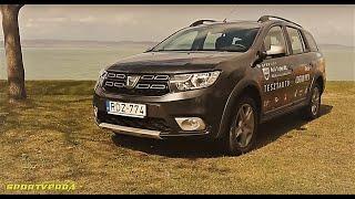 A LEGOLCSÓBB kombi - Dacia Logan MCV teszt (SportVerda)