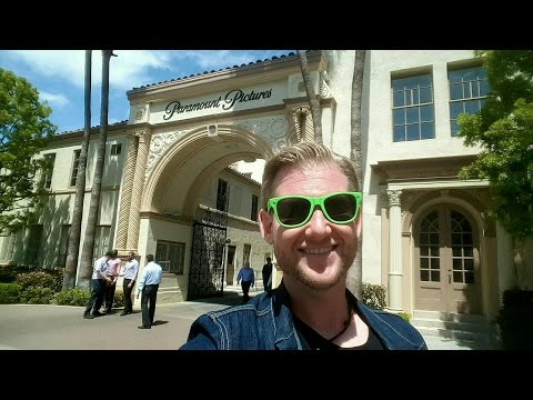 #248 INSIDE Paramount Pictures Private Backlot Tour // Filming Locations (4/14/17)