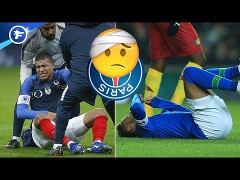 Mbappé et Neymar se blessent, le PSG en panique | Revue de presse