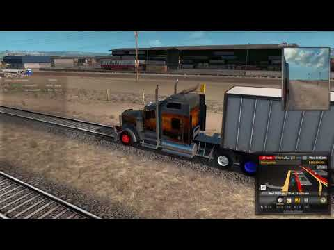 American Truck Online. Riding the Train Rails.
