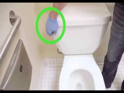 How To Unclog a Toilet Without a Plunger - YouTube