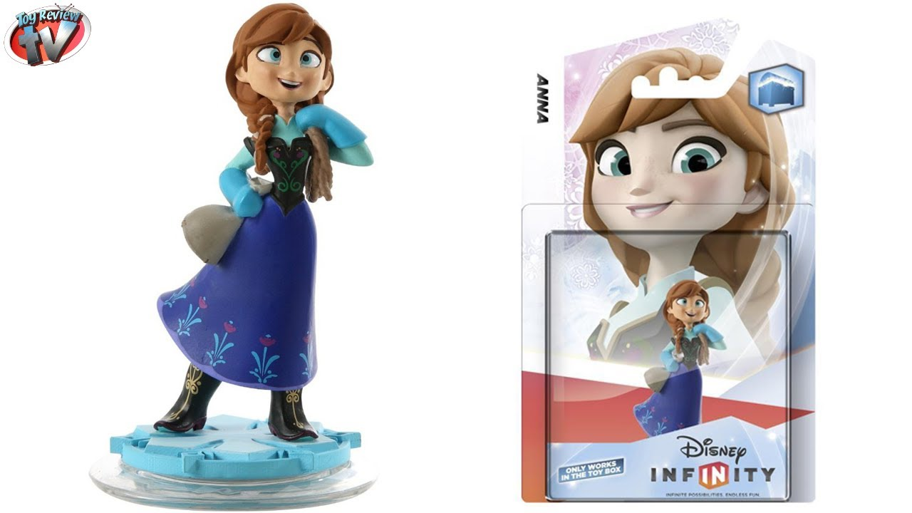 Disney Infinity Anna From Frozen Figure Unboxing - YouTube