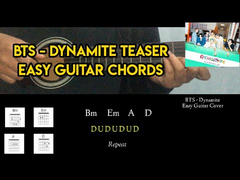 bts-(방탄소년단)-dynamite-official-teaser-easy-guitar-tutorial-with-chords-|-suin
