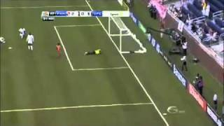 CONCACAF Gold Cup 2011 Group C Panama 3-2 Guadeloupe - Highlights 06/07/2011