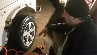 Люфт переднего колеса на ниве