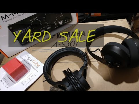 Z's Yard Sale : August [NURAPHONE - YAMAHA A-S301 - RICE COOKER - ETC]