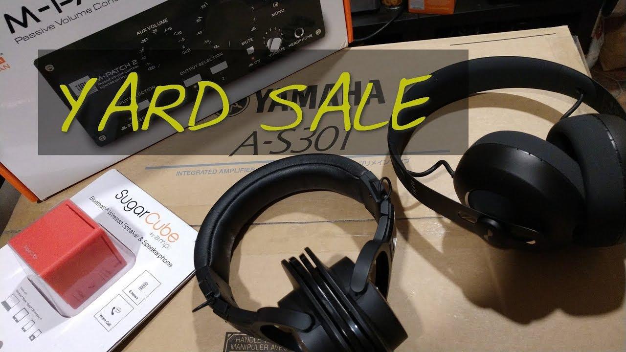 Zs Yard Sale August Nuraphone Yamaha A S301 Rice Cooker Etc