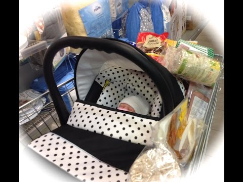 Einkauf mit Silicon Baby Lucy/Shooping whit Silicon Baby