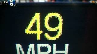 Slowest pitch in MLB history 49 mph [World Record]