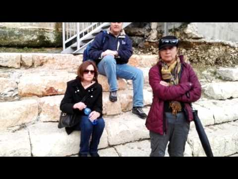 City of David, the story of the Pool of Siloam (from the time of King Herod), Jerusalem, Israel