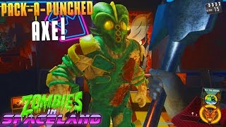 PACK-A-PUNCHED AXE! (Infinite Warfare Zombies In Spaceland Funny Moments) Fails! - MatMicMar