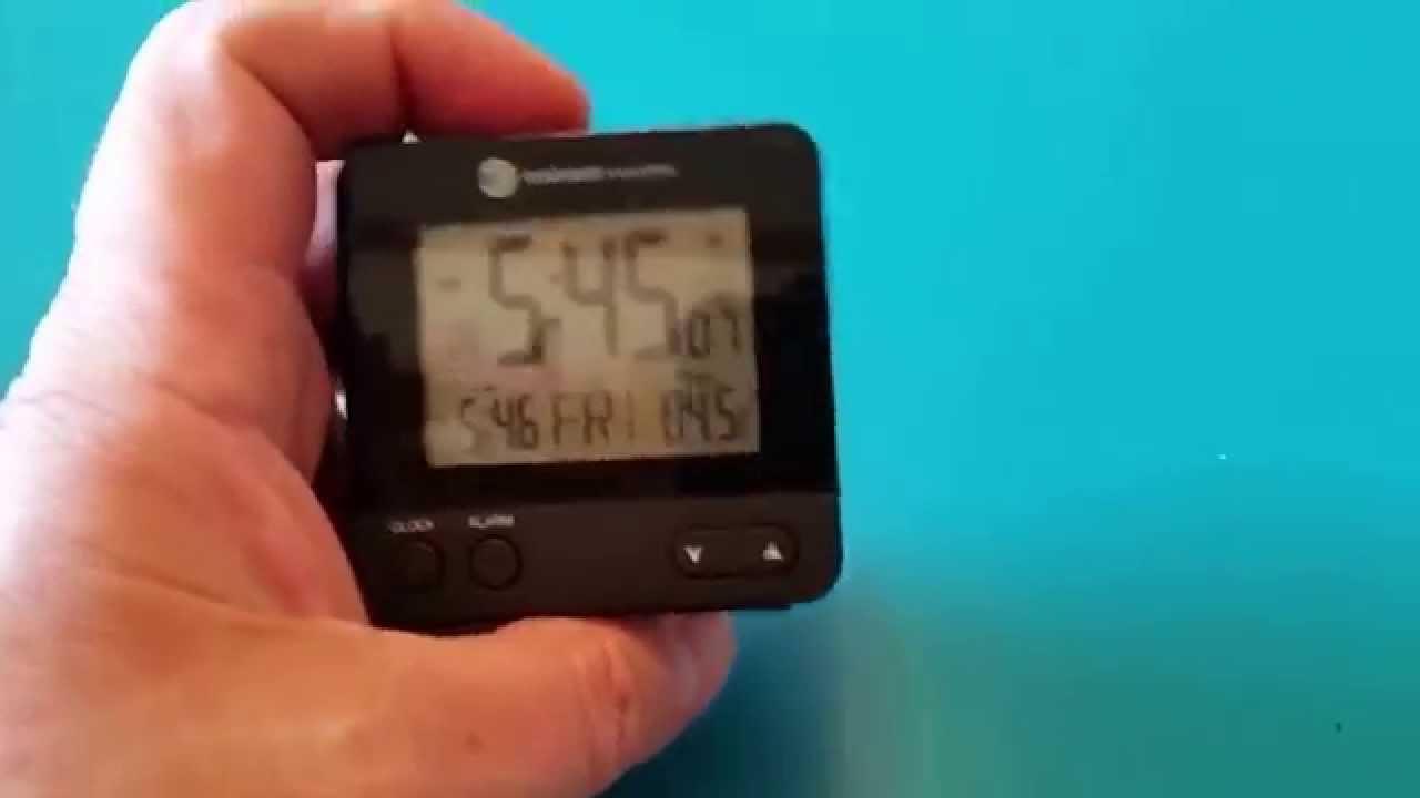 Ambient Weather Travel Alarm Clock