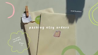 Download Studio Vlog 3 🌼 How I pack etsy orders | Sticker sheets, bts stickers etc
