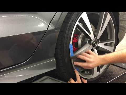 CURBED THE Audi RS3! Here's how to repair a scuffed wheel or rim with a DIY video