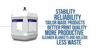 Dyna® product range manufactured by PCO Printing Chemicals - The Netherlands