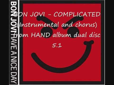 Bon Jovi - COMPLICATED (Instrumental and chorus)
