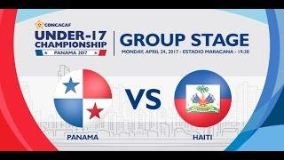 CU17PAN: Panama vs Haiti