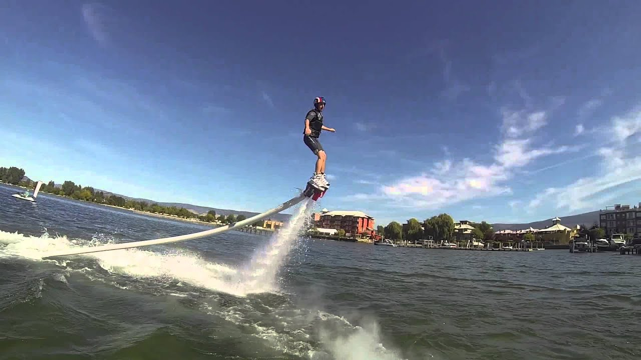 """Download Flyboarding Music Video """"Party Right"""" with Justin Charney"""