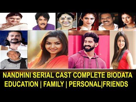 Nandhini TV Serial Cast Education BioData Family Private Sun TV Nandhini Serial Actors Unseen Photo