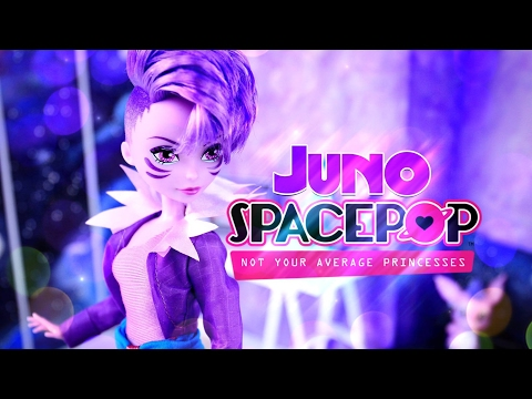 Unbox Daily: Spacepop - Not Your Average Princess - Juno & Skitter - Doll Review - 4K