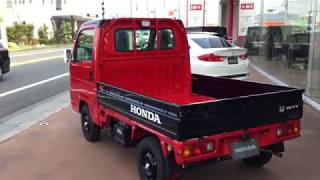HONDA ACTY TRUCK アクティトラック赤~特別仕様車 TOWN スピリットカラースタイル
