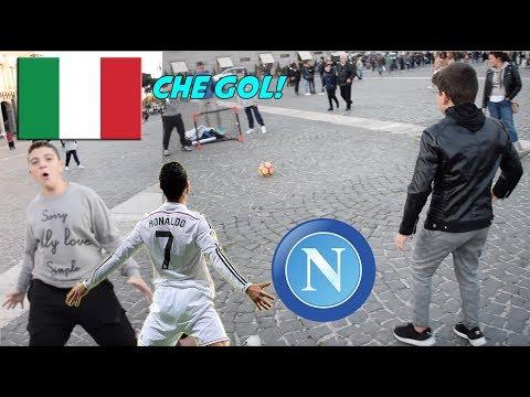 I Ragazzi ITALIANI a Napoli Sanno Calciare Un Pallone ? ● Interviste Ignoranti