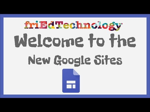 Welcome to the New Google Sites