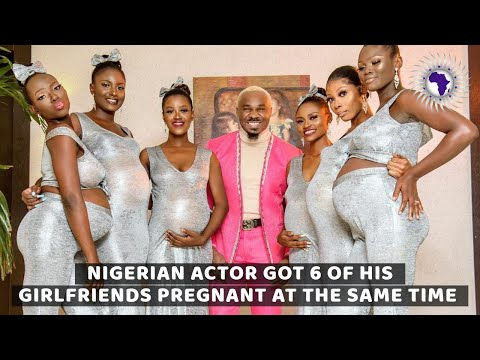 Famous Nigerian Actor Got His 6 Girlfriends Pregnant At The Same Time