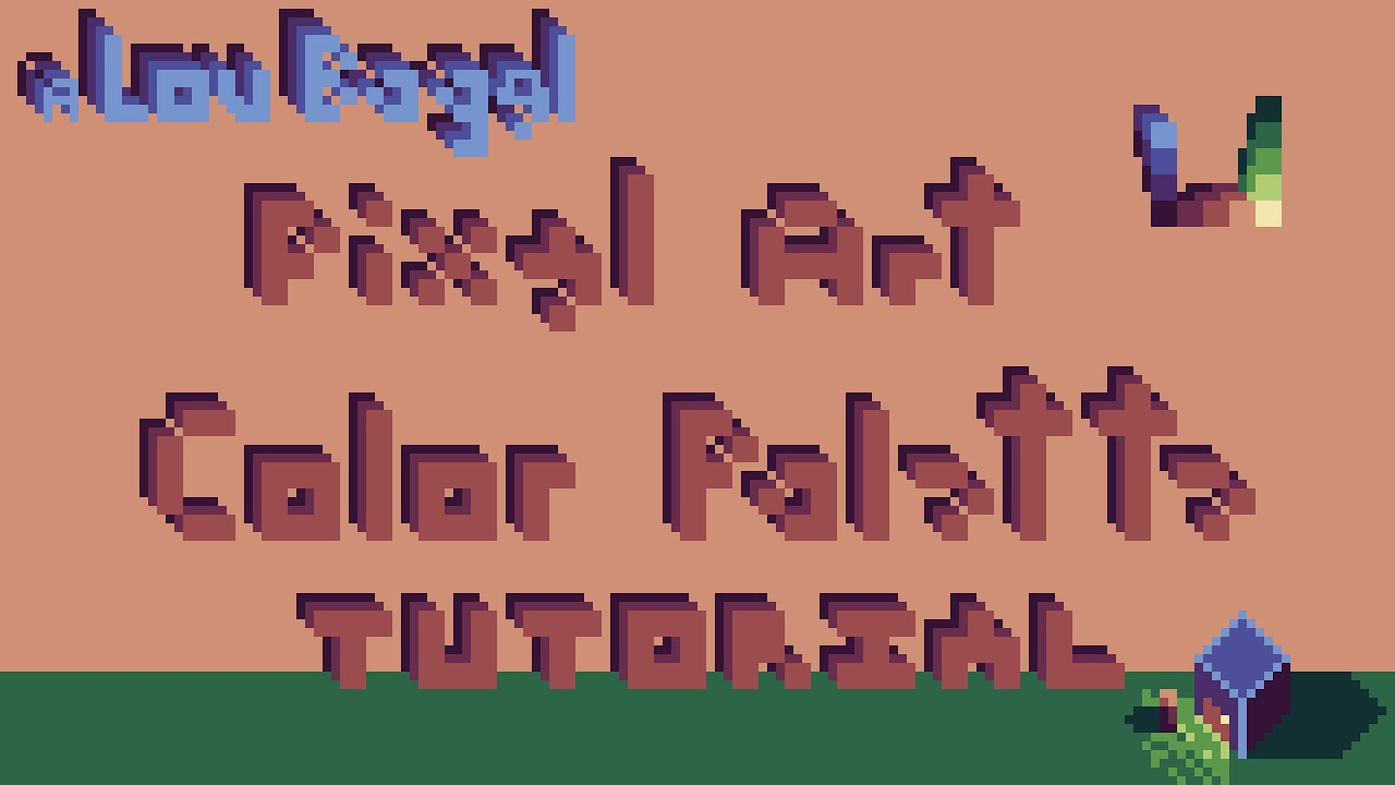 Pixel Art Tutorial Creating A Color Palette From Scratch Youtube