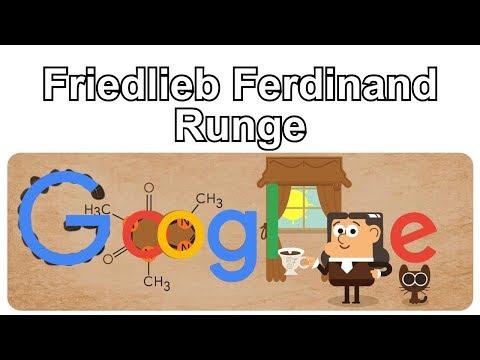 Friedlieb Ferdinand Runge - 225. Geburtstag von Friedlieb Ferdinand Runge (Google Doodle)