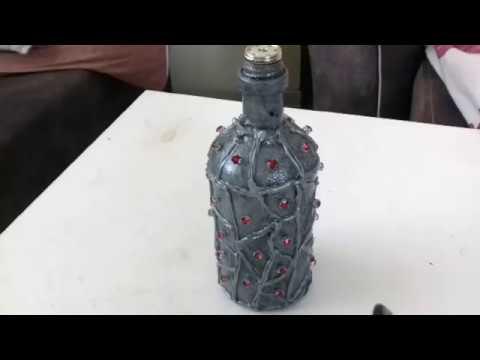 Diy Dekoratif şişe Boyama Youtube