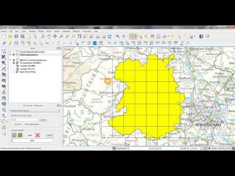 QGIS OSGR tool: generating OS grid squares