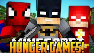 MInecraft: Hunger Games W/ Spiderman, Batman, and The Flash!