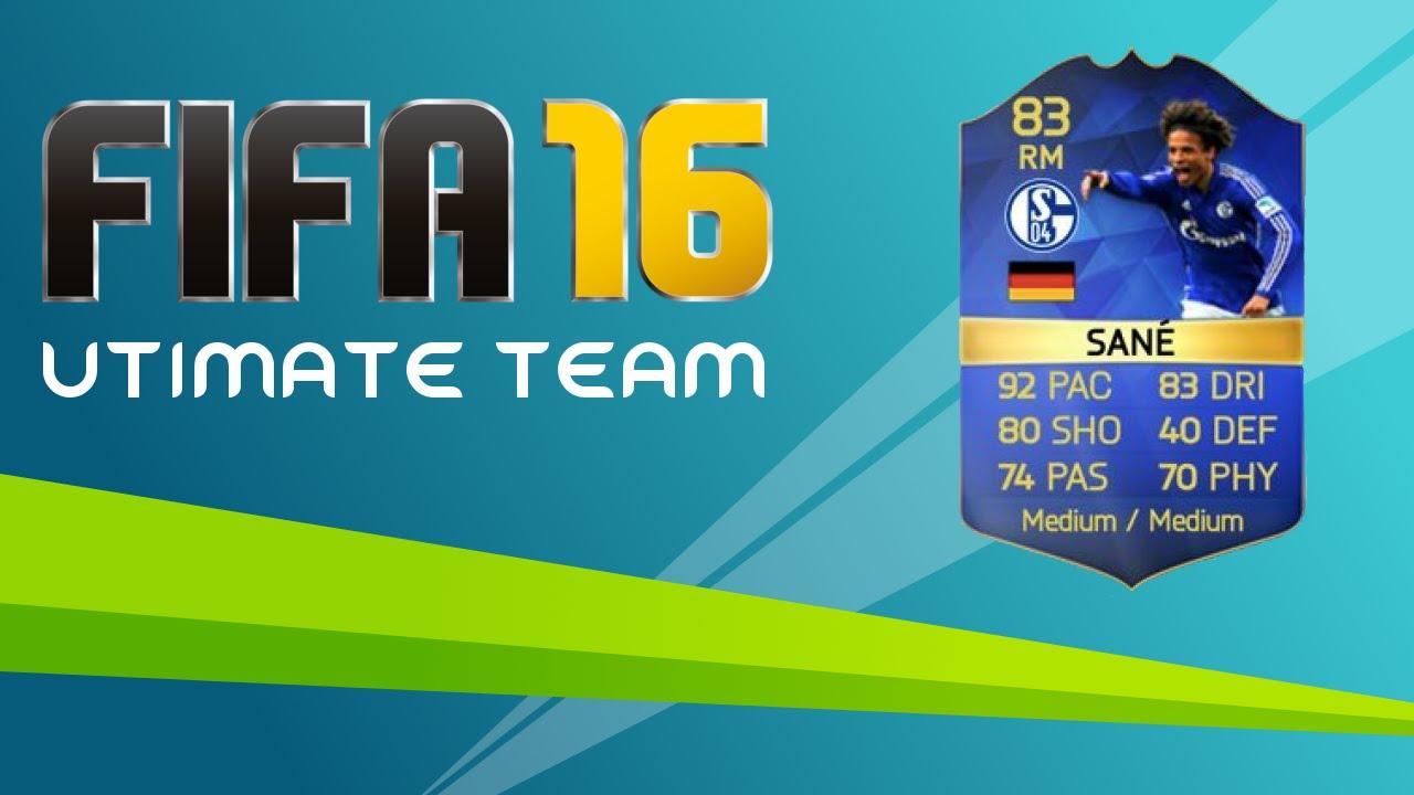 Sané Fifa 16