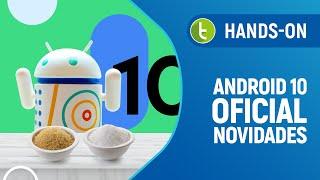 """ANDROID 10 OFICIAL! Hands-on com """"NOVIDADES"""" do sistema SEM DO…"""
