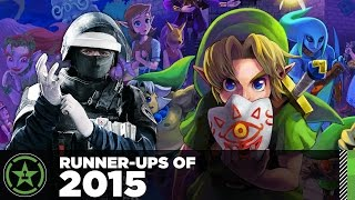 Runner Up Games of 2015