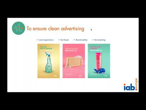 IAB Europe Webinar  Building Transparency and Trust in the Digital Advertising Supply Chain