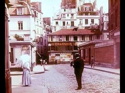 Old French Chanson: Emma Liebel - Mon Paris, 1925